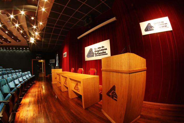 Escenario del Auditorium CAZPQ